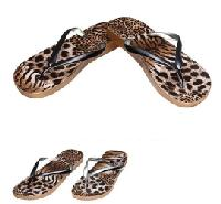Ladies Flip Flops-Leopard Prints